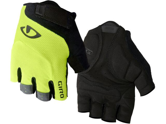 Giro Bravo Gel fietshandschoenen, highlight yellow